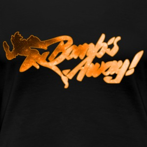 Bombs Away! orange - Women's Premium T-Shirt