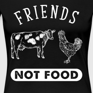 Friends not food - Women's Premium T-Shirt