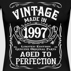 Vintage Made In 1997 - Women's Premium T-Shirt