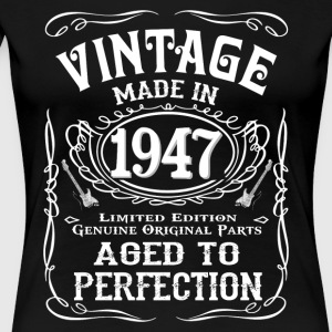Vintage Made In 1947 - Women's Premium T-Shirt