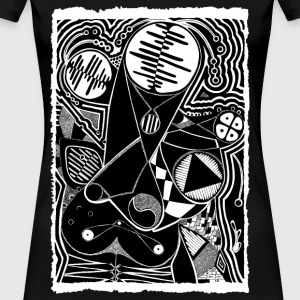 Zentangle - Women's Premium T-Shirt