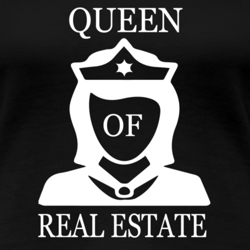 white queen estate - Women's Premium T-Shirt