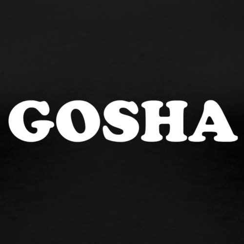 GOSHA ORIGINAL (WHITE) - Women's Premium T-Shirt