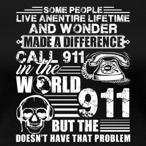 911 Dispatcher Shirts - Women's Premium T-Shirt
