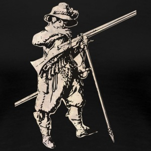 Soldier with mosquet - Women's Premium T-Shirt