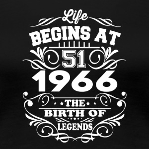 1966 The Birth Of Legends T-Shirt - Women's Premium T-Shirt