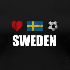 Sweden Football Swedish Soccer T-shirt - Women's Premium T-Shirt