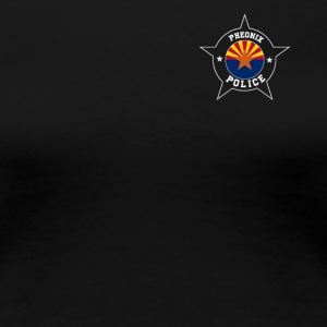 Phoenix Police T Shirt - Arizona flag - Women's Premium T-Shirt