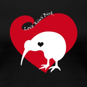 Love Kiwi Bird Tee Shirt - Women's Premium T-Shirt