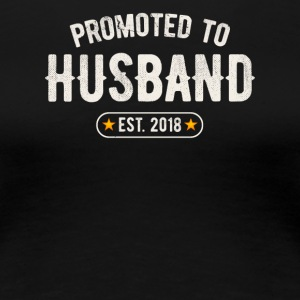 Promoted To Husband 2018 - Women's Premium T-Shirt