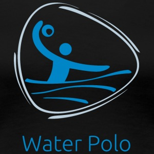 Water_polo_blue - Women's Premium T-Shirt