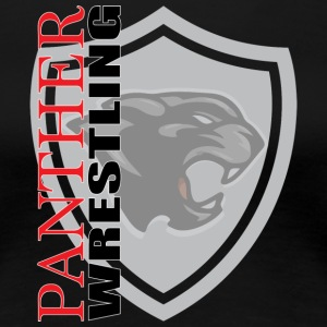 Panther Wrestling - Women's Premium T-Shirt