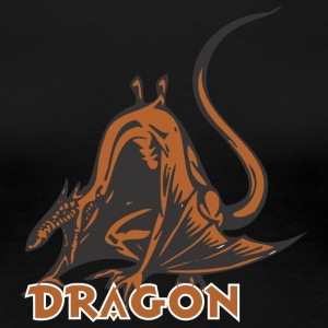 dragon_looking_like_a_rat_color - Women's Premium T-Shirt