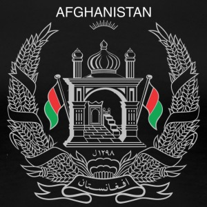 Afghanistan National Logo- Basic - Women's Premium T-Shirt