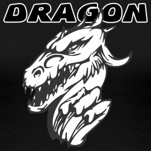 evil_dragon_with_hand - Women's Premium T-Shirt