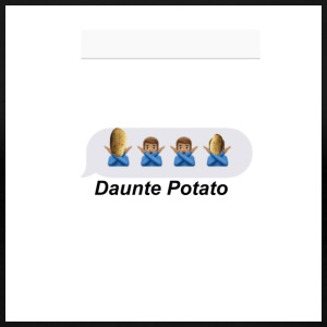 Daunte Potato - Women's Premium T-Shirt