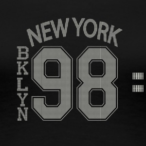 NY BKLYN 98 - Women's Premium T-Shirt