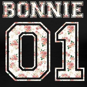 Bonnie_01_vintage_flower_bunt2 - Women's Premium T-Shirt