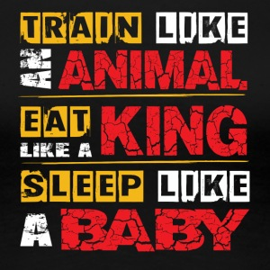 Train Like An Animal - Women's Premium T-Shirt