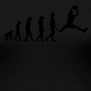 Basketball Evolution - Women's Premium T-Shirt
