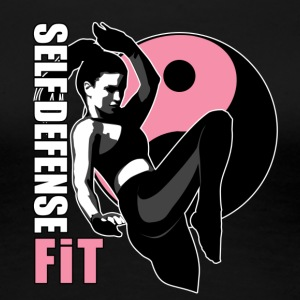 SELF DEFENSE FIT LOGO - Women's Premium T-Shirt