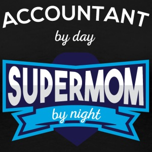Accountant By Day Supermom By Night T Shirt - Women's Premium T-Shirt