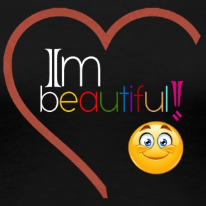 i'm beautiful - Women's Premium T-Shirt