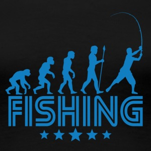 Retro Fishing Evolution - Women's Premium T-Shirt