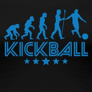 Retro Kickball Evolution - Women's Premium T-Shirt
