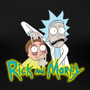 Rick_and_morty_icon - Women's Premium T-Shirt