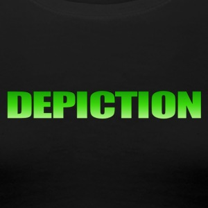 Depiction Impact [GREEN] - Women's Premium T-Shirt