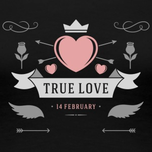 True Love 14 February - Women's Premium T-Shirt