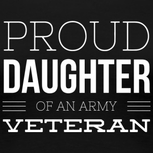 Proud Veteran Daughter - Women's Premium T-Shirt