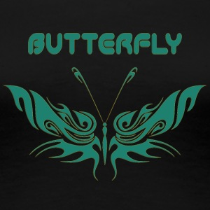 butterfly 48 - Women's Premium T-Shirt