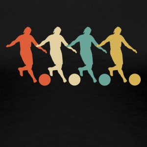 Retro Kickball Pop Art - Women's Premium T-Shirt