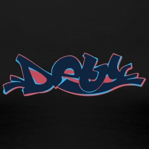 dew_graffiti_dark - Women's Premium T-Shirt