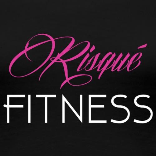 RisqueFitnessai - Women's Premium T-Shirt