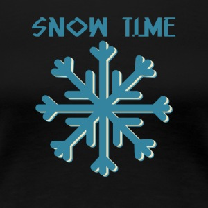 Snow time - Women's Premium T-Shirt
