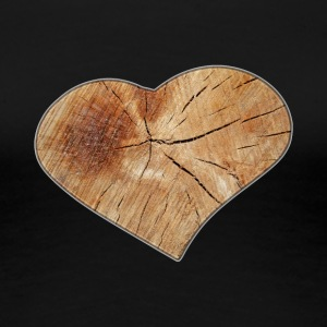 Heart_Wood_Isle | by Isles of Shirts - Women's Premium T-Shirt