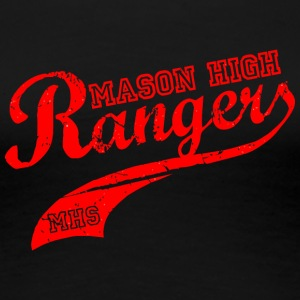 MASON HIGH Rangers MHS - Women's Premium T-Shirt