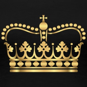 king-gold-crovn-VIP-lable-rap - Women's Premium T-Shirt