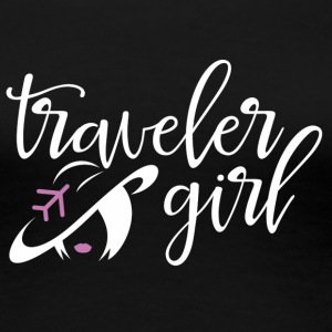Traveler Girl - Women's Premium T-Shirt