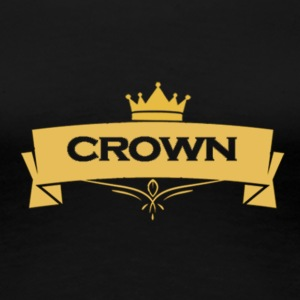 Crown T-shirt - Women's Premium T-Shirt