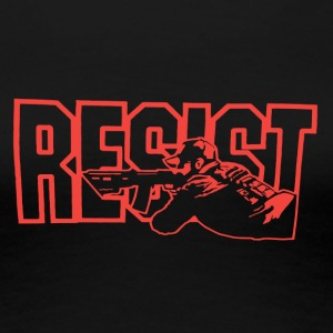 Resist Red - Women's Premium T-Shirt