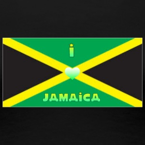 Love Jamaica - Women's Premium T-Shirt