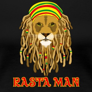 rasta_man_lion - Women's Premium T-Shirt