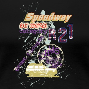 speedway out - Women's Premium T-Shirt