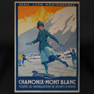 public domain images the first winter olympics 192 - Women's Premium T-Shirt