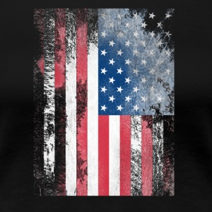USA FLAGGE 2017 - Women's Premium T-Shirt