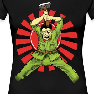 The Asian Warrior - Women's Premium T-Shirt